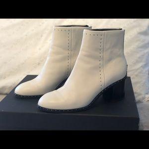 Rag & Bone Will Stud Boot in Antique White